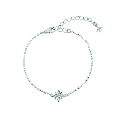 Swarovski clear crystal star bracelet