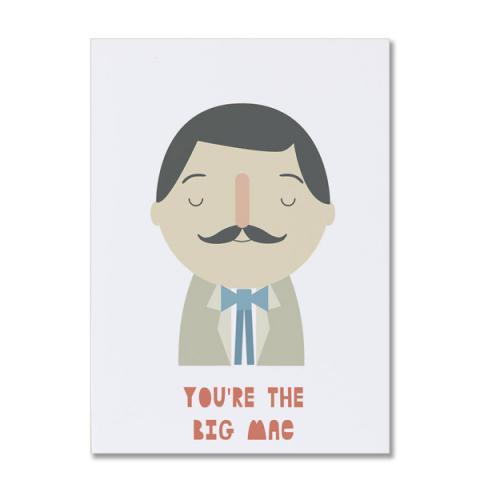 You're the big mac greeting card