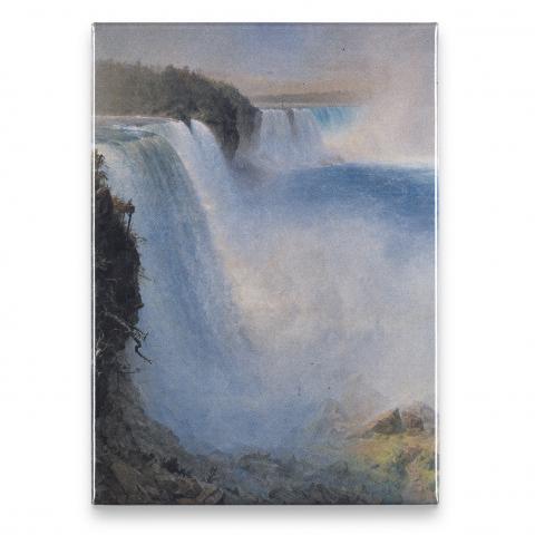 Niagara Falls Frederic Church Magnet
