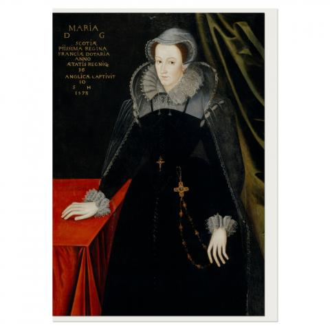 Mary Queen of Scots Greeting Card