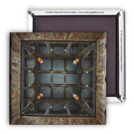 Scottish National Portrait Gallery Ceiling Magnet
