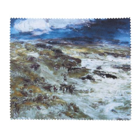 The Storm by William McTaggart lens cloth
