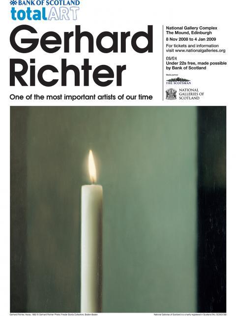 Gerhard Richter Exhibition Poster