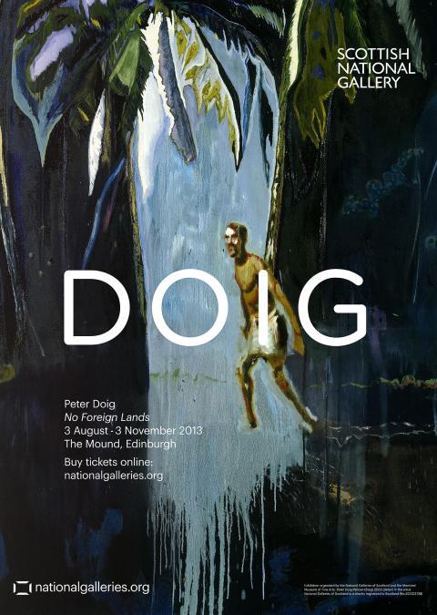 Peter Doig Exhibition Poster Pelican