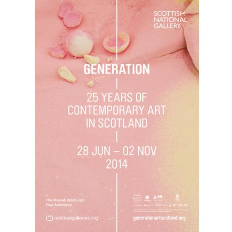 Generation exhibition poster
