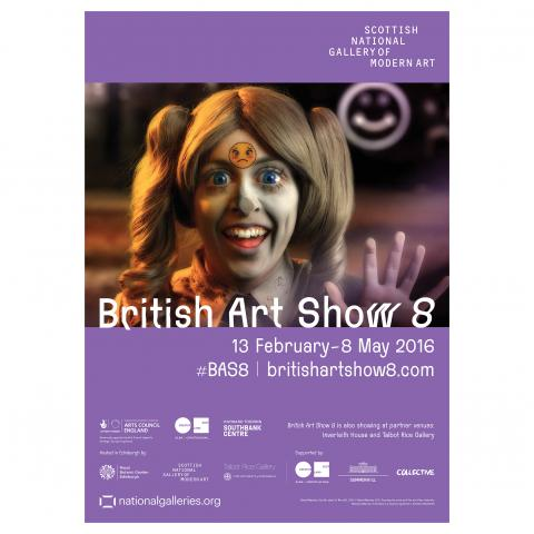 British Art Show 8 Exhibition Poster