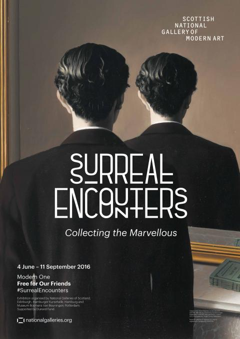 Surreal Encounters Exhibition Poster