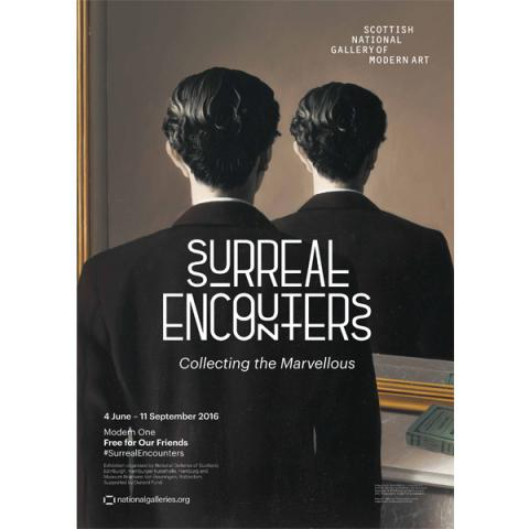 Surreal Encounters: Collecting the Marvellous exhibition poster