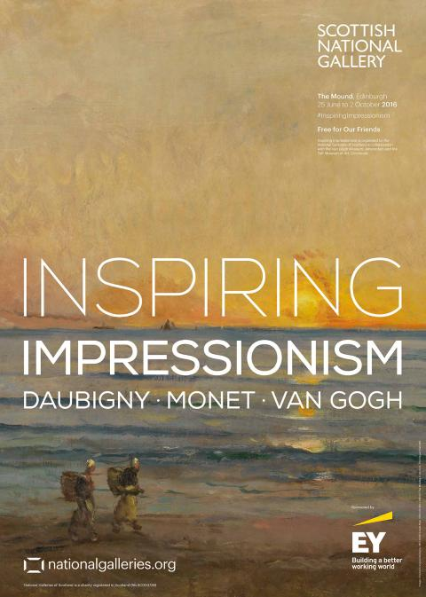 Inspiring Impressionism Exhibition Poster