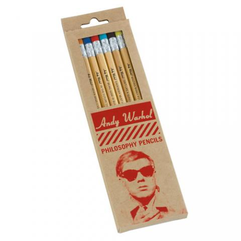 Andy Warhol Philosophy pencil set (8 graphite pencils)