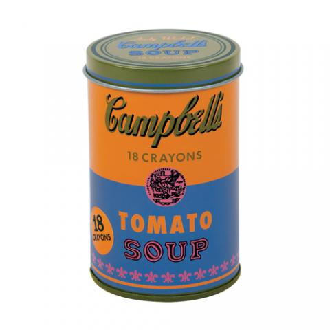 Soup Can Andy Warhol Crayons