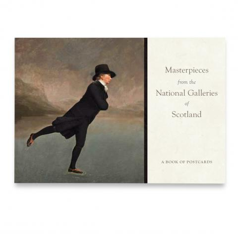 Masterpieces from the National Galleries of Scotland postcard book