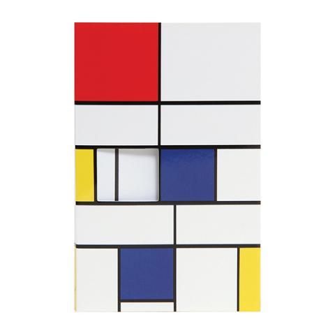 Piet Mondrian pocket-size notepad