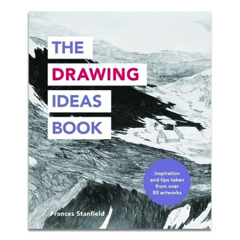 The drawing ideas book (paperback)