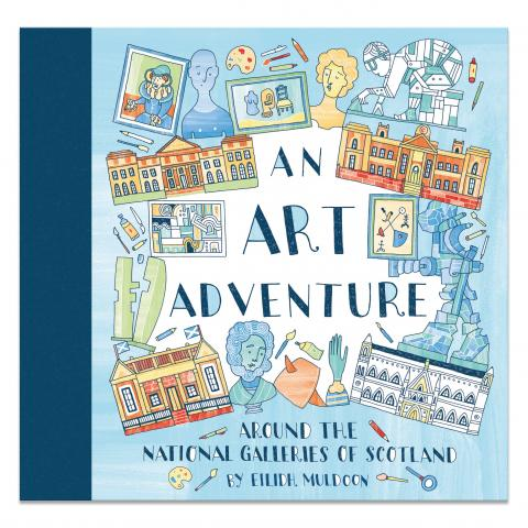 An Art Adventure Colouring Book