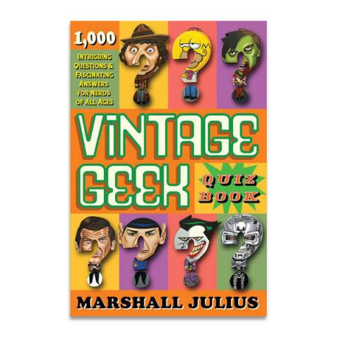 Vintage Geek: The Quiz Book (paperback)