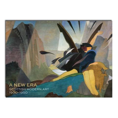 A New Era: Scottish Modern Art 1900-1950 Various Artists Notecard Wallet (12 cards)