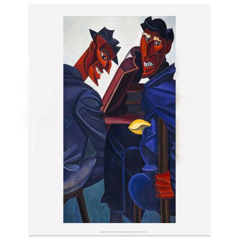 A Reading of Ovid (Tyros) by Percy Wyndham Lewis art print