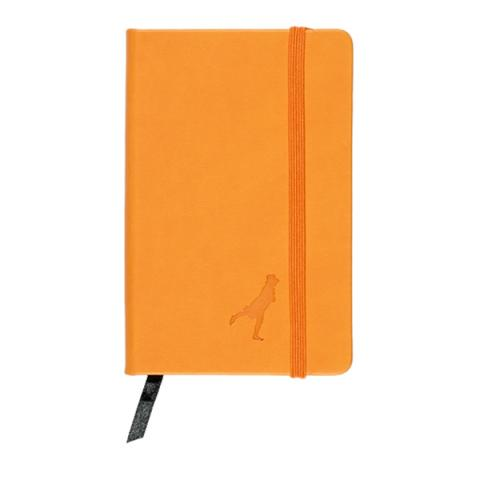 Leather A6 Notebook Orange