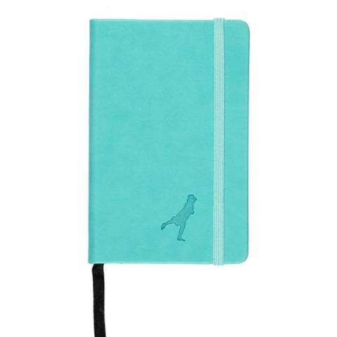 Leather A6 Notebook Turquoise