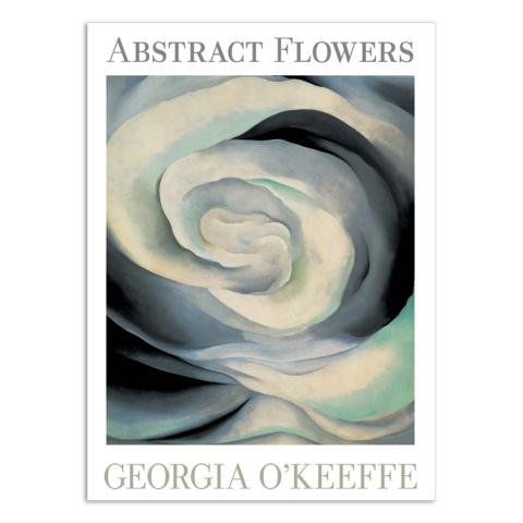 Abstract flowers by Georgia O'Keeffe notecard box (20 cards)