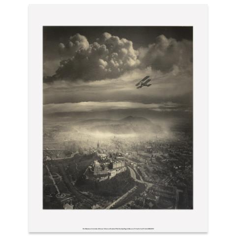 Aerial View of Edinburgh by Alfred Buckham art print