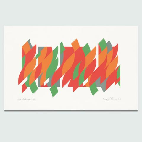 After Rajasthan, 2013 by Bridget Riley Limited Edition Print