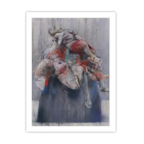 Aleppo by Jenny Saville ready to hang framed print