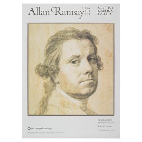 Allan Ramsay at 300 exhibition poster