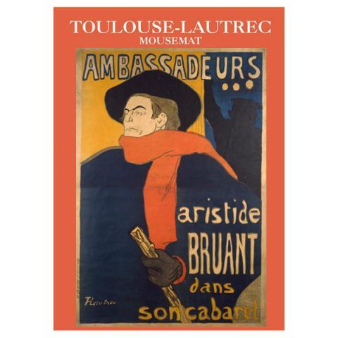 Ambassadeurs Toulouse-Lautrec Mouse Mat
