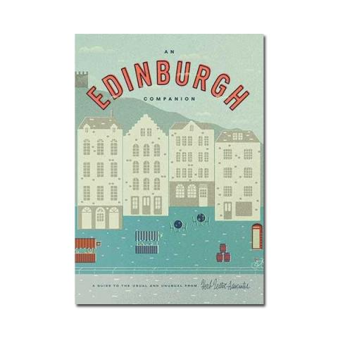 An Edinburgh Companion city guide map