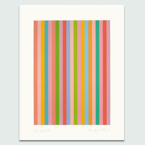 And About, 2011 by Bridget Riley Limited Edition Print