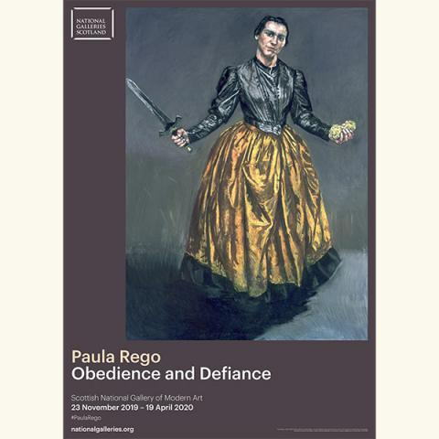 Angel by Paula Rego exhibition poster