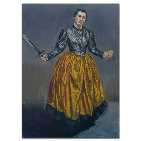 Angel by Paula Rego poster print
