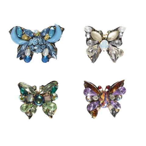 Annie Sherburne Tiny Butterfly Brooch