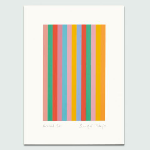 Around, 2011 by Bridget Riley Limited Edition Print