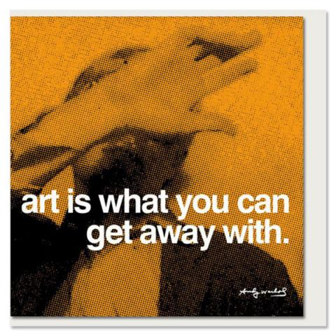 Art Andy Warhol Greeting Card