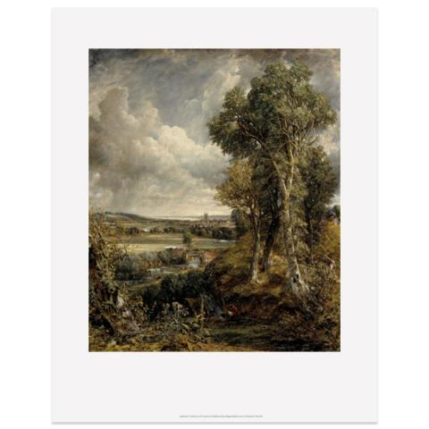 The Vale of Dedham by John Constable art print