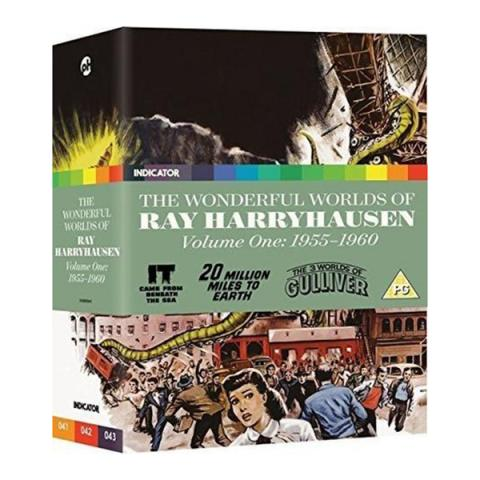 The Wonderful Worlds of Ray Harryhausen V1: 1955-1960 Blu-ray collection