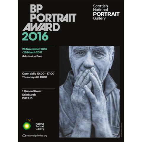 BP Portrait Award Petras Exhibition 2016 Poster