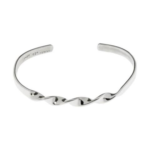 Tianguis Jackson Twisted Cuff Silver Bracelet