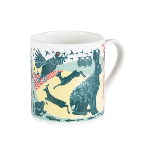Babs Pease Illustrated Animal Mug