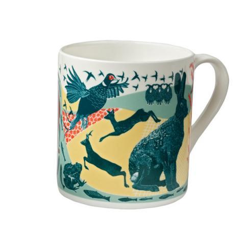 Babs Pease Illustrated Animal Mug