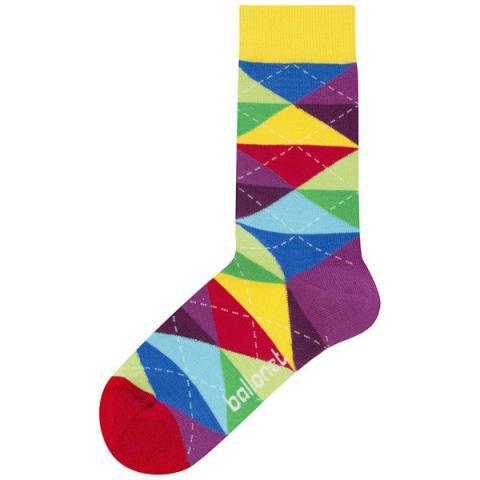 Ballonet cheer colourful unisex cotton socks (size 4-7)