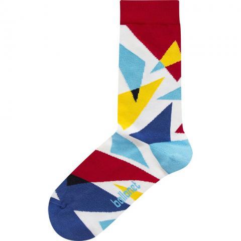 Flash colourful unisex cotton socks (size 4-7)