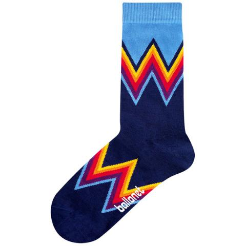 Wow colourful unisex cotton socks (size 4-7)
