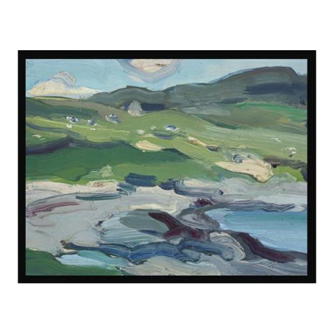 Barra by Samuel John Peploe (60 cm) framed canvas