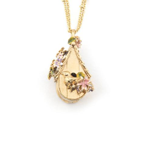 Bill Skinner Bird House Necklace