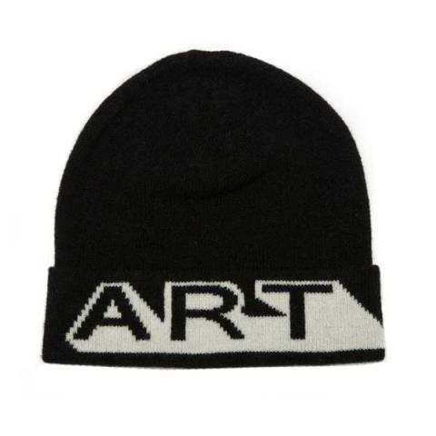 Black and white Art unisex Green Thomas lambswool hat