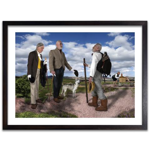 Bonjour Monsieur Byrne by Ron O'Donnell exclusive limited photographic print